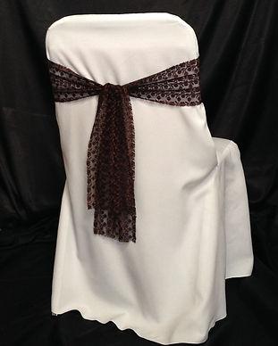 Chocolate brown lace sash.jpg