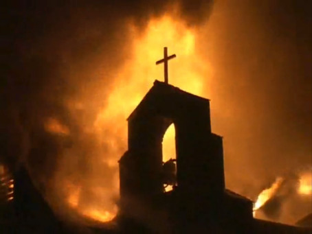 Church security during riots and civil unrest