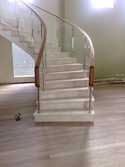 Timber stairs Brisbane