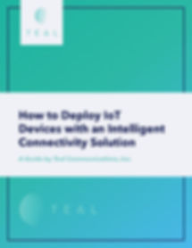 Teal Whitepaper for Intelligent Connecti