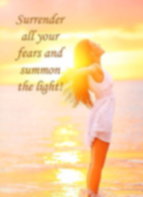 Surrender yor fears with hypnotherapy