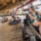 SpeedZone Fun Center wood go-kart track pigeon forge