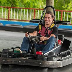 SpeedZone Fun Park fast go-kart track pigeon forge