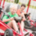 SpeedZone Fun Park kids go-kart track in pigeon forge