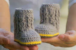 Baby Cable boots 2