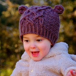 Baby Bear Cable Hat 4
