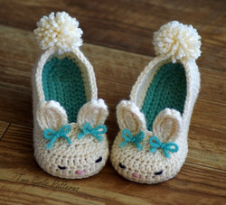 Toddler Bunny Slippers 4