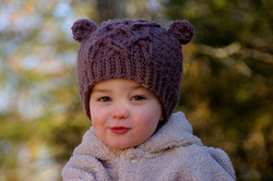 Baby Bear Cable Hat 3