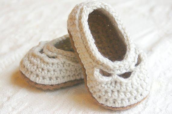 Baby Yoke Slipper 4
