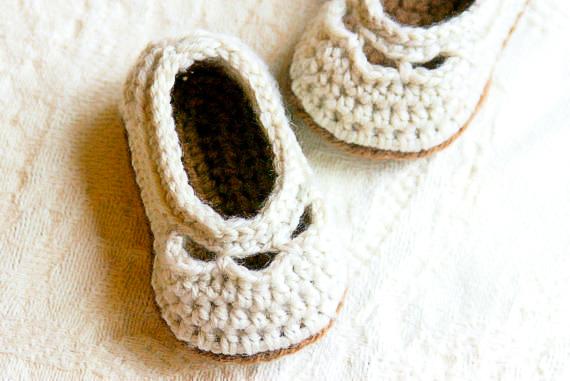 Baby Yoke Slipper 1-2