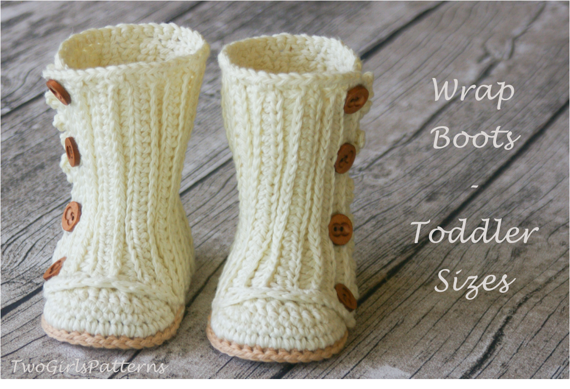 Toddler Wrap Boots