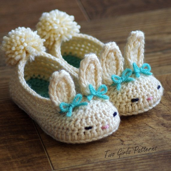 Toddler Bunny Slippers 1