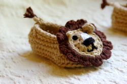 Baby Lion Slipper 3