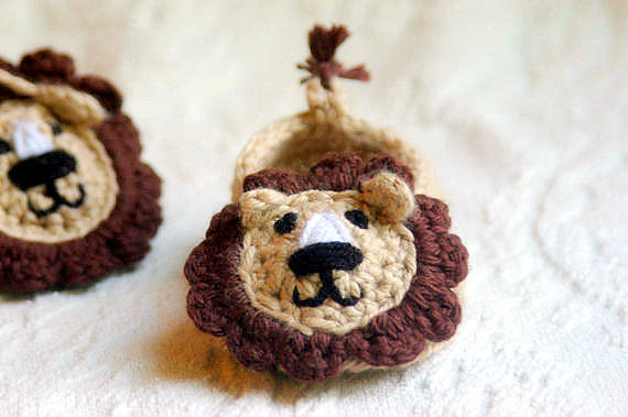 Baby Lion Slipper 2
