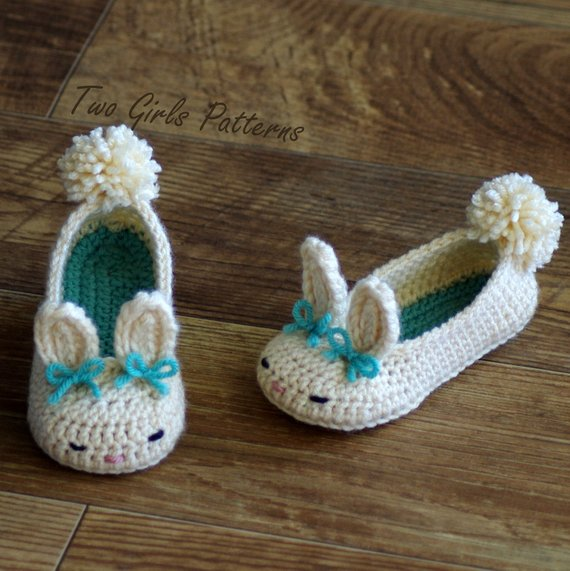 Toddler Bunny Slippers 3