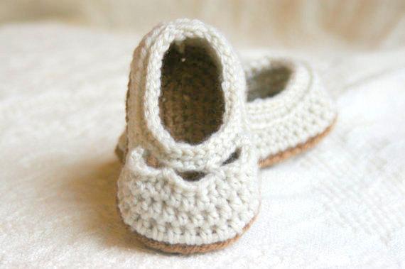 Baby Yoke Slipper 3
