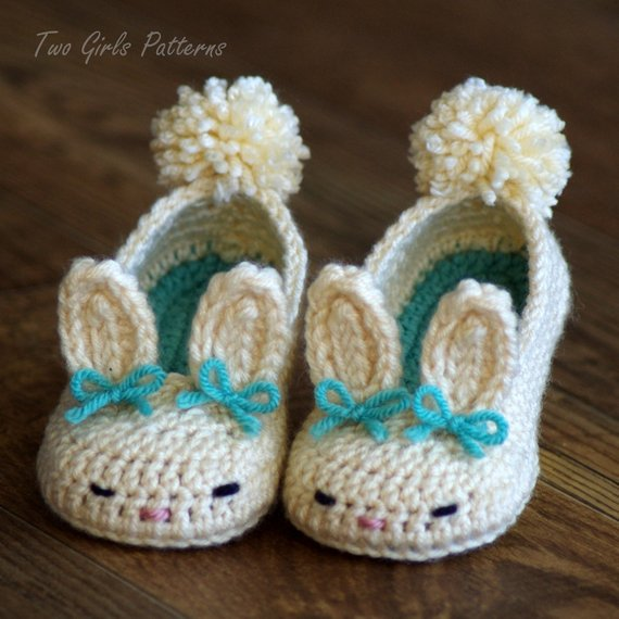 Toddler Bunny Slippers 2