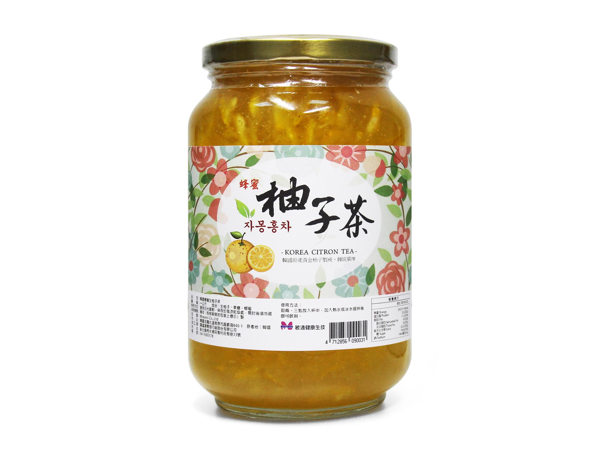 韓國柚子茶