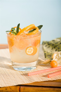 柚子雞尾酒
