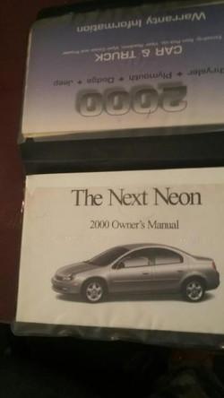 00 dodge neon book
