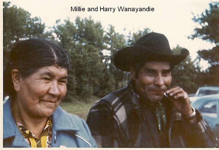 Millie and Harry Wanyandie