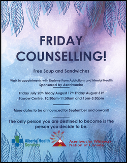 Friday Counselling