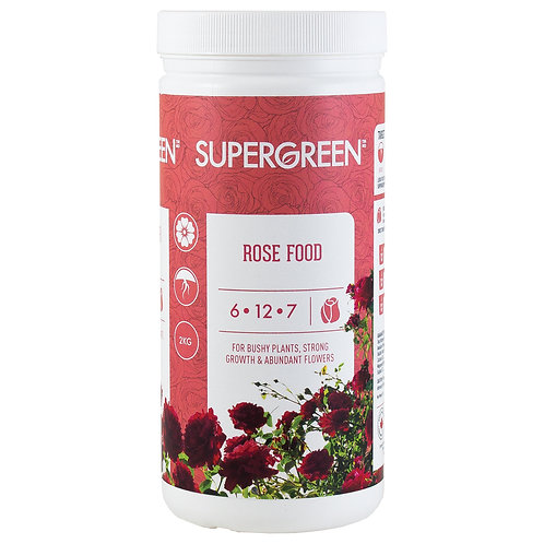 Rose Food | 6-12-7
