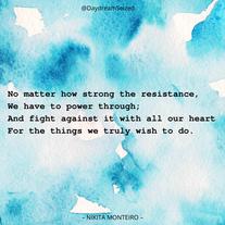 Excerpt from 'Resistance'