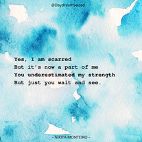 Excerpt from 'Scarred'