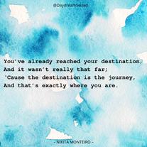 Excerpt from 'Destination'