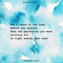 Excerpt from 'Perfection'