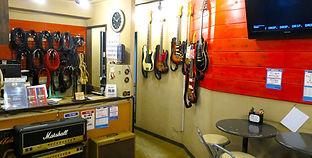 下北沢ギター教室ロビー