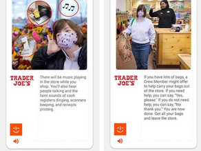 Trader Joe's Creates Its Own MagnusCards to Make Grocery Shopping More Accessible