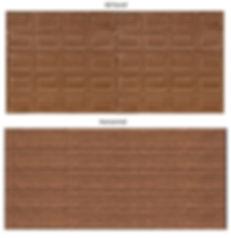 Brown Chromadek Garage Doors