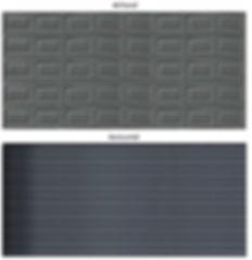 Charcoal Chromadek Garage Doors