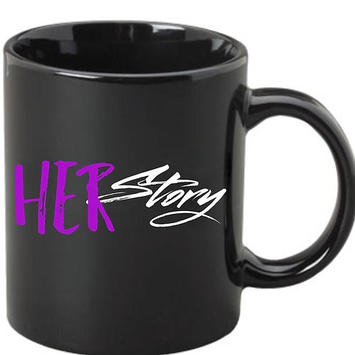 HERstory Coffee Mug- Black