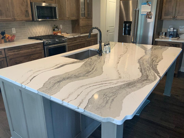 Kitchen Renovation - Cambria Skara Brae