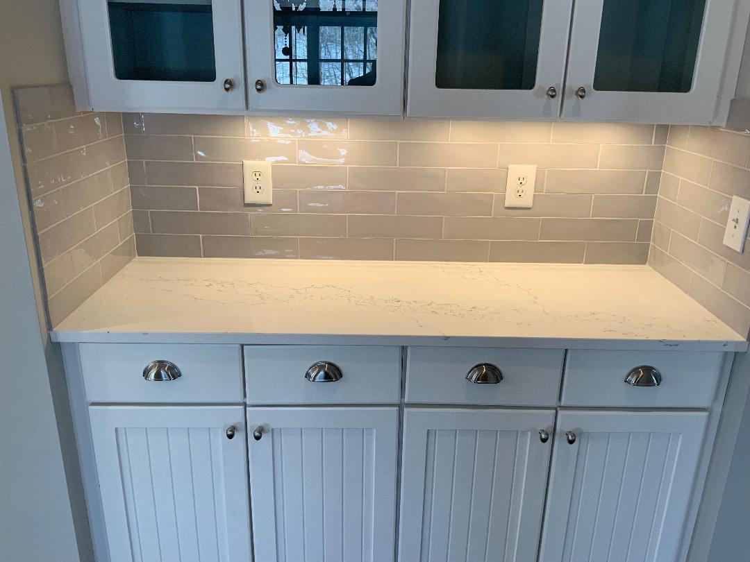 Kitchen Renovation - Hanstone Chantilly