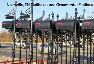 Nashville TN mailbox, Nashville TN mailboxes, Nashville TN ornamental mailbox, Hendersonville TN mailboxes