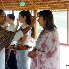Welcoming yoga teacher trainees
