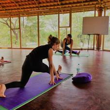 Intensive Yoga class