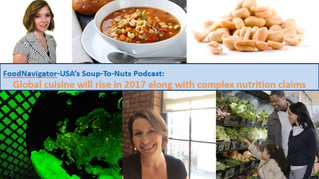 Eat Well Global talks 2017 global food trends on Food Navigator-USA's Podcast