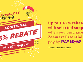 2020 Singapore National Day Promo: Enjoy JUMBO-sized rebates of up to 10.5%!
