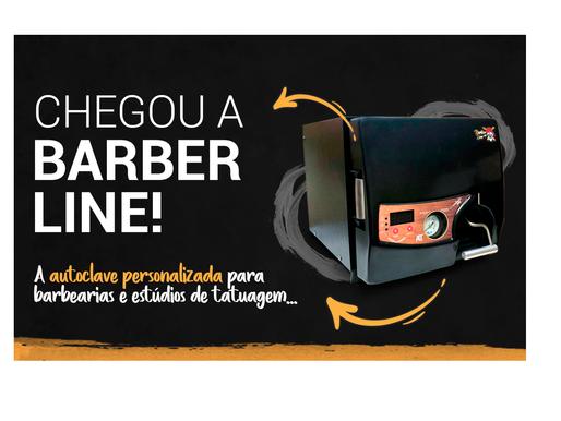 A Barber Line chegou para transformar seu estabelecimento