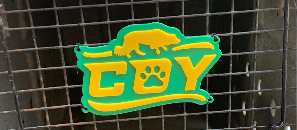 3D Printed Crate Sign