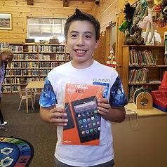 teen winner, summer reading challenge.jp