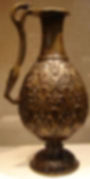 early bronze vase