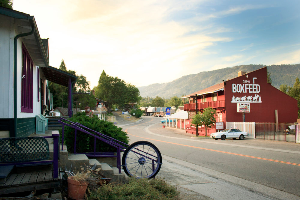 picture main street north fork california