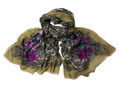 'Maggie' - Connemara Marble & Pastel Roses