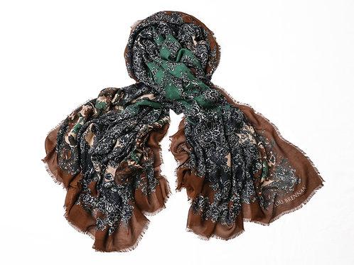 'Patricia' - Rust & Green & Tonal Roses